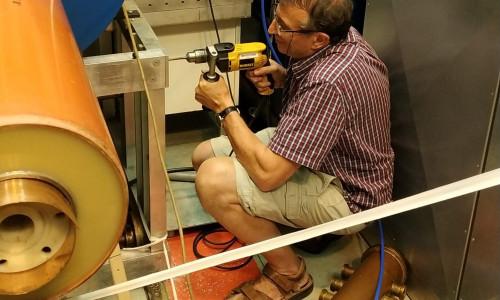 Design construction work on High voltage generator