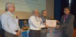 "Dr. Somesh Vinayak Tewari was awarded the prestigious ""Outstanding Doctoral Students Award"""